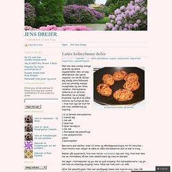 Lækre kidneybønne deller