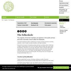 The folkeskole - Danmarks Lærerforening