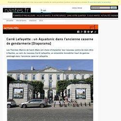 Carré Lafayette : un Aquatonic dans l'ancienne caserne de gendarmerie