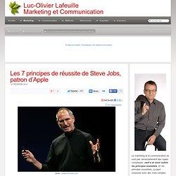 Les 7 principes de r?ussite de Steve Jobs, patron d?Apple