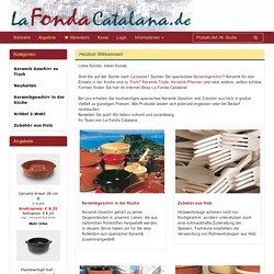 LaFondaCatalana.de - cazuela, spanisches keramikgeschirr, tonschalen