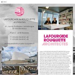 LAFOURCADE & ROUQUETTE architectes