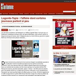 Lagarde-Tapie : l'affaire dont certains journaux parlent si peu
