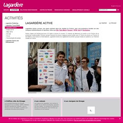 Lagardère Active ou Lagardère Ressources