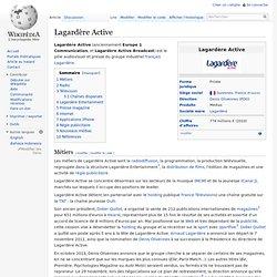 Lagardère Active Radio Télé... & tutti quanti