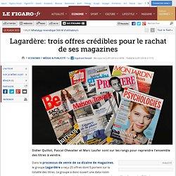 Lagardère: trois offres crédibles pour le rachat de ses magazines