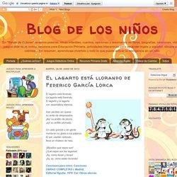 Blog de los niños: El lagarto está llorando de Federico García Lorca