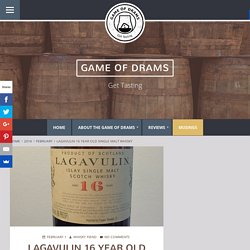 Lagavulin 16 Year Old Single Malt Whisky - Game of Drams