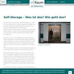 Self Storage in Köln