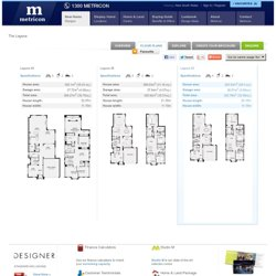 Laguna, New Home Floor Plans, Interactive House Plans - Metricon Homes - Sydney, NSW