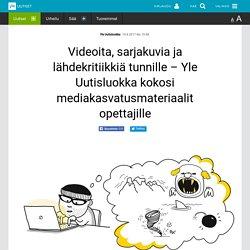 Videoita, sarjakuvia ja lähdekritiikkiä tunnille – Yle Uutisluokka kokosi med...