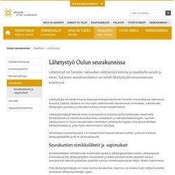 Lähetystyö - Oulun seurakunnat