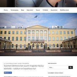 Suomen lähihistorian suurin tragedia täytyy käsitellä – salailun on loputtava nyt – Jocka Träskbäck