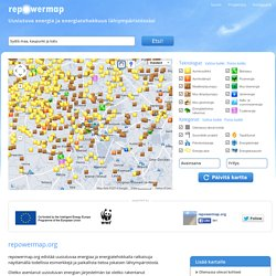 Uusiutuva energia ja energiatehokkuus lähiympäristössäsi