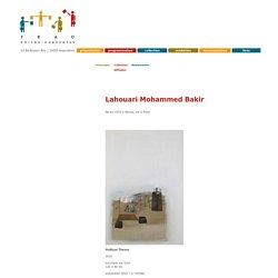 Lahouari Mohammed Bakir, collection FRAC Poitou-Charentes
