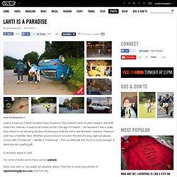 Lahti Is a Paradise