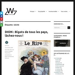 laïcité Archives - wallonica.org