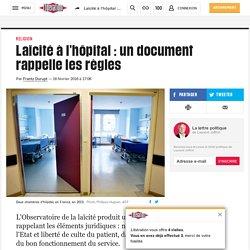 Laïcité à l'hôpital: un document rappelle les règles