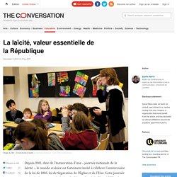 La laïcité, valeur essentielle de la République / The Conversation