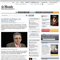 La laïcité en France, un athéisme d'Etat ?
