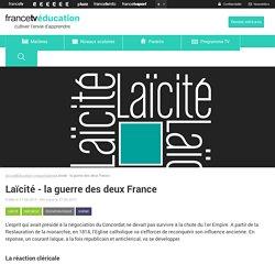 Laïcité - la guerre des deux France