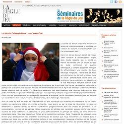 Selim Rauer, La Laïcité et l'islamophobie en France aujourd'hui