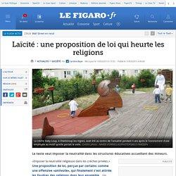 Laïcité : une proposition de loi qui heurte les religions