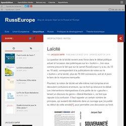Laïcité – RussEurope