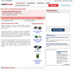 Laipac Tech Europe Sl (spain) - Company Profile