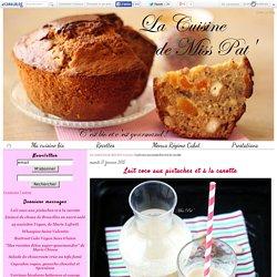 Lait coco aux pistaches et à la carotte - La cuisine bio de Miss Pat'