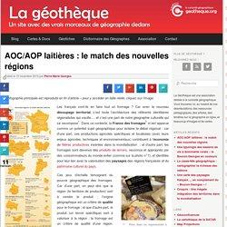 AOC/AOP laitières : le match des nouvelles régions