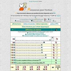 net : ressources en écriture pour les classes de cycle 2 (GS - CP - CE1)
