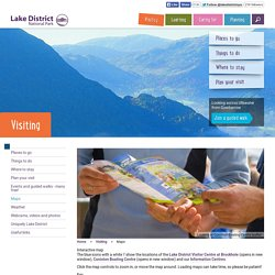 Lake District National Park - Maps