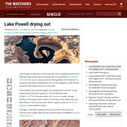 Lake Powell drying out