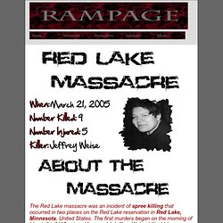 Red Lake Senior High School massacre