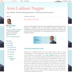 Arun Lakhani Nagpur: The Value of Thirst