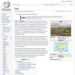 Laki: Iceland 1783