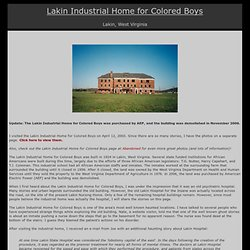 Lakin Industrial Home for Colored Boys