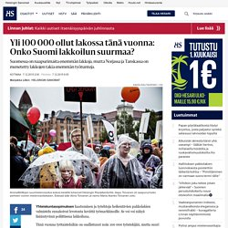 Yli 100 000 ollut lakossa tänä vuonna: Onko Suomi lakkoilun suurmaa? - Talouspäätösten syksy