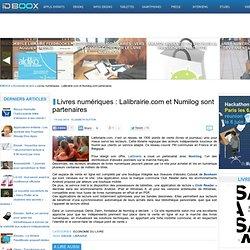 Livres numériques : Lalibrairie.com et Numilog sont partenaires