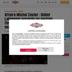 Affaire Michel Zecler: Didier Lallement accorde un soutien financier aux policiers mis en examen