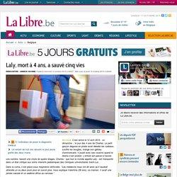 Laly, mort à 4 ans, a sauvé cinq vies
