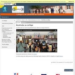 A. de Lamartine de Toulouse - Booktube au collège