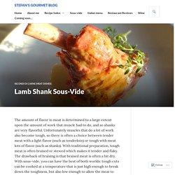 Lamb Shank Sous-Vide