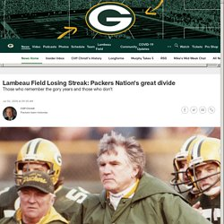 Lambeau Field Losing Streak: Packers Nation's great divide