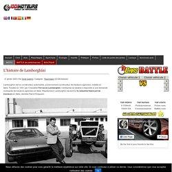 L'histoire de Lamborghini