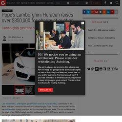 Paavin Lamborghini Autoblog fait désormais partie dâOath