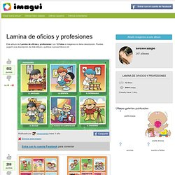 Lamina de oficios y profesiones - Imagui