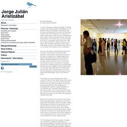 Láminas en la memoria de Jorge Julián Aristizábal : Jorge Julian Aristizabal