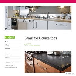 Laminate Countertops – Cabinet Makers in Prince George